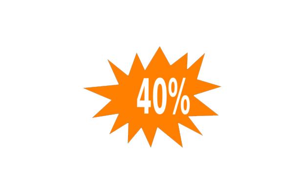 40percent
